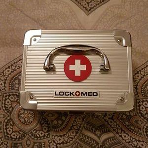 New in the box LOCK MED Medication Lockbox